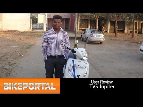 TVS Jupiter User Review - 'very good mileage' - Bikeportal