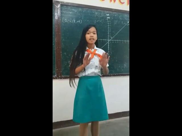 Netizens, naluha sa tagos-pusong spoken poetry ng isang anak