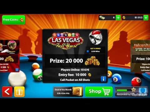 8 Ball Pool - From 2k to 200k Coins Part 3 (Playing as a GUEST)