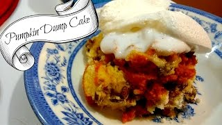 Pumpkin Dump Cake  Easy And Simple Recipe