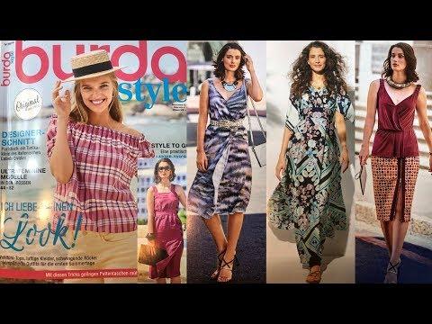 Листаем журнал Burda Style 06/2019/Обзор на Burda Style 06/2019