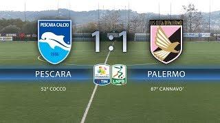 PRIMAVERA Pescara - Palermo 1-1, gli highlights