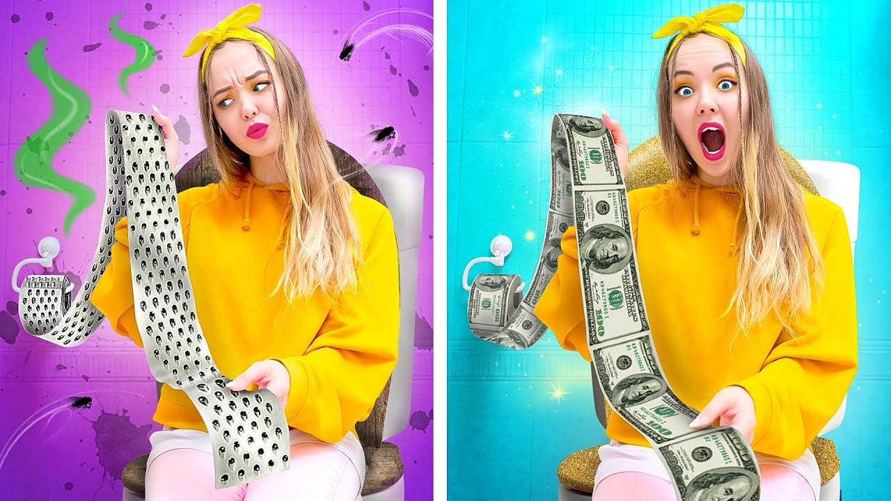 RICH SISTER VS POOR SISTER || Rich Girl Vs Broke Girl Funny Situations by Challenge Accepted