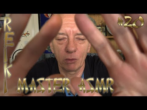 Reiki ASMR Session Reiki Healer #20 for Stress Anxiety Relief Peace Restful Sleep All Needs