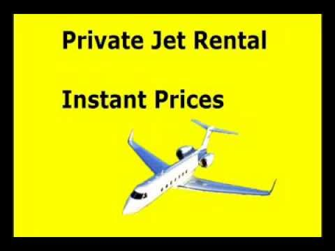 Private Jet Rental rates