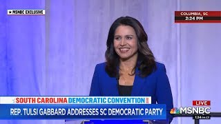 Tulsi Gabbard Receives Amazing Welcome and Cheers from South Carolina Democratic Convention