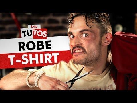 TUTO ROBE T-SHIRT