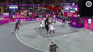 USA 3x3 Men's Basketball Takes Home Gold After Defeating Puerto Rico | Pan American Games Lima 2019