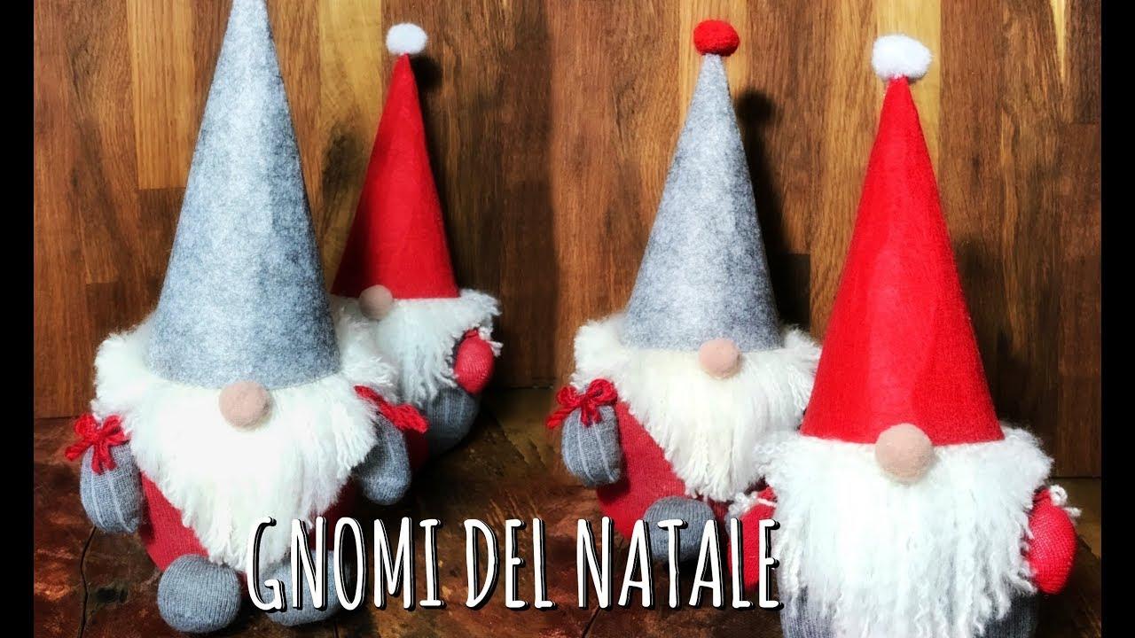 Gnomi Di Natale Facilissimi E Super Low Cost Nisser Decorazione Di Natale Per La Casa Arte Per Te
