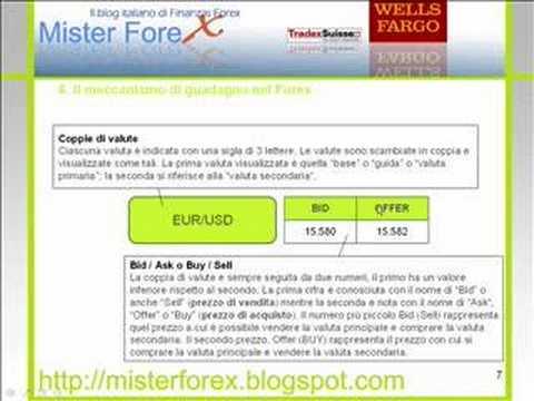 Forex tutorial italiano