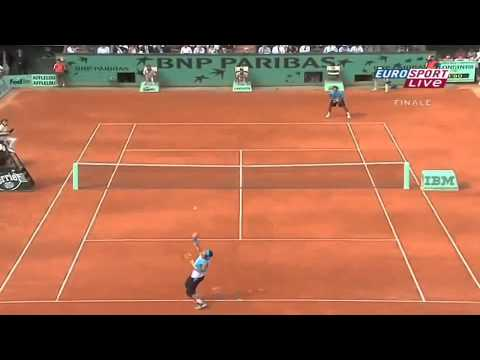 roland garros 2007 final nadal vs federer highlights hd youtube. Black Bedroom Furniture Sets. Home Design Ideas
