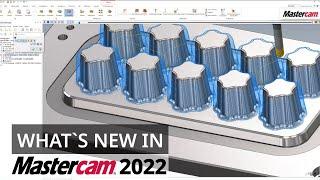 Mastercam 2022: Neuerungen im 3D Z-Konstanten Fräsen   CAD/CAM-Software
