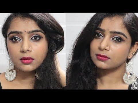 Durga Puja Makeup Tutorial 2019 | Easy simple makeup for festival | #MakeupShakeup Ep 02 thumbnail