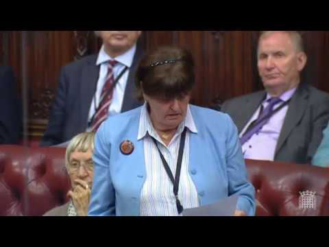 Baroness Cox speaks of desperation in Blue Nile State in parliament