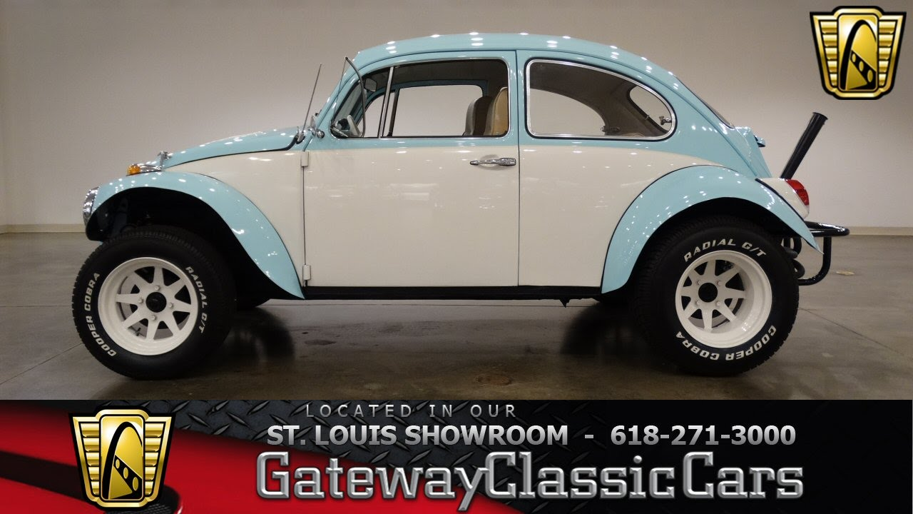 7008 1969 VW Baja Beetle - Gateway Classic Cars of St. Louis - YouTube
