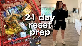 VLOG: 21 day kenzie burke reset prep, grocery shopping, fav lush products