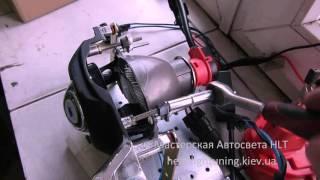 BMW 5 E39 замена линз на биксеноновые KOITO в фарах