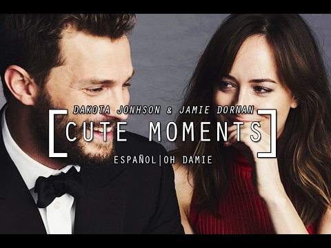 Dakota Johnson & Jamie Dornan Cute Moments 1 (SUBTITULADO)