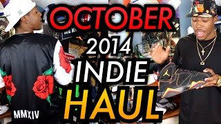 October Indie Brand HAUL! Ancient Juvenile | Hypland | Killion & More