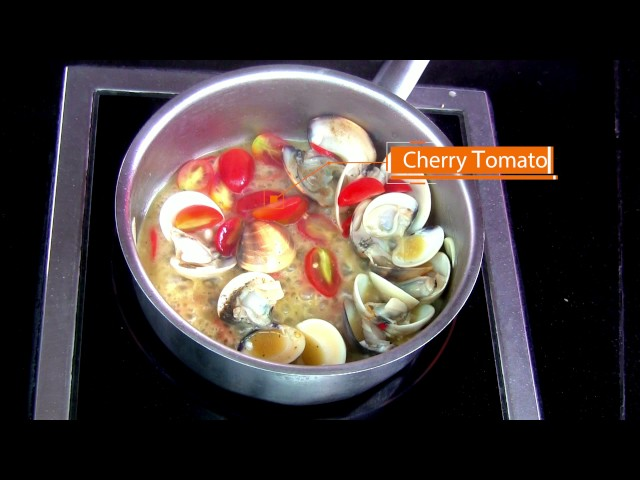 How To Cook Vongole Spaghetti @Holiday Inn Pattaya
