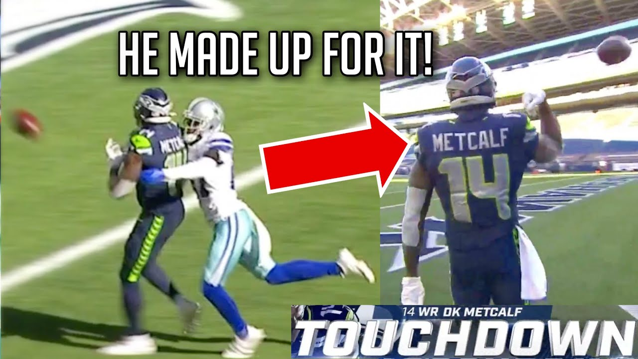 D.K. Metcalf vs Trevon Diggs & Seahawks (Game Winner!) || HD Week 3 2020 NFL Season