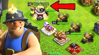 MAX MINERS! FIX That ENGINEER ep21 | Clash of Clans