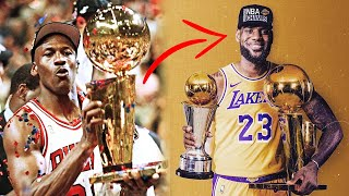 How LeBron James' 4th NBA Championship W/Lakers Completely Alters His Legacy (FT. Michael Jordan)