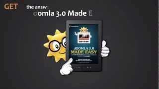 JoomlaShine Video | Joomla! 3.0 Made Easy E-book