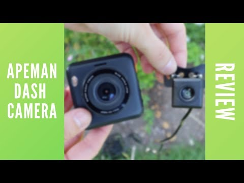 BEST FRONT AND REAR DASH CAM 2019?! - APEMAN FRONT AND REAR DUAL LENS DASH CAMERA C420D REVIEW