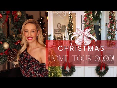 *NEW* CHRISTMAS HOME TOUR 2020! TRADITIONAL CHRISTMAS DECOR + VICTORIAN FARMHOUSE DECOR IDEAS!!