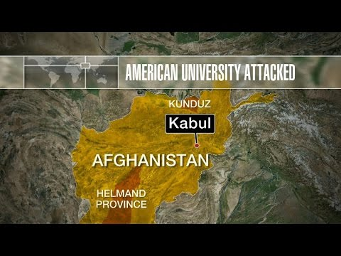 American University in Kabul attacked