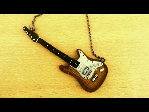 Polymer Clay Electric Guitar Tutorial