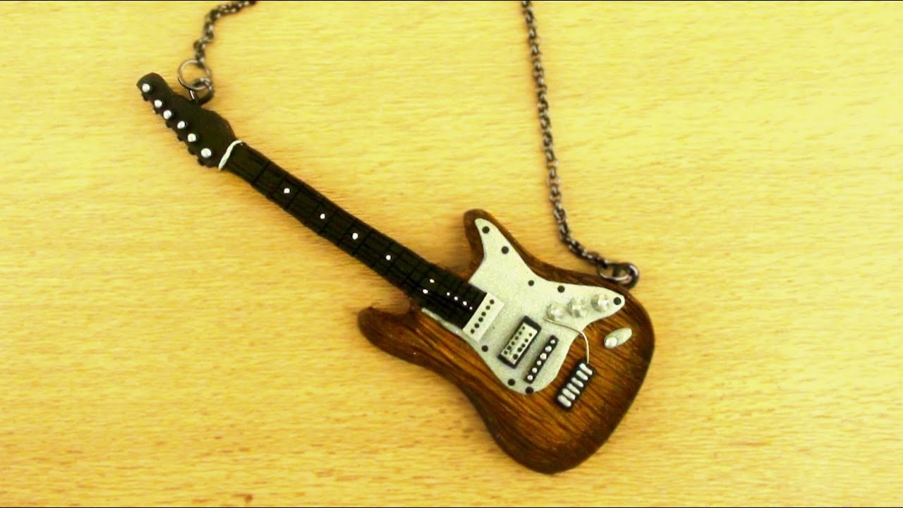 polymer clay electric guitar tutorial youtube. Black Bedroom Furniture Sets. Home Design Ideas