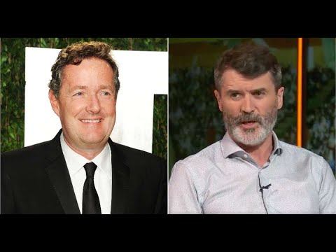 Piers Morgan's silly tweet in response to Roy Keane seriously backfires