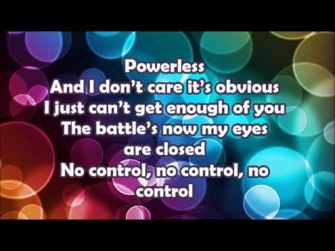 One Direction -No Control (Lyrics)
