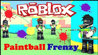 Roblox: lascia giocare Mad Paintball Frenzy Xbox One Multiplayer Gameplay