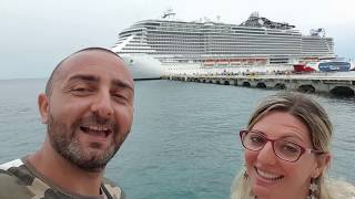Msc Seaside 2018 Ale & Raf Caraibi