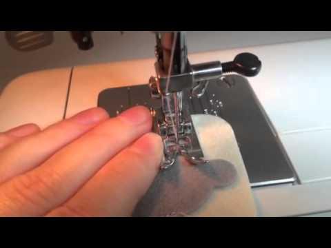 Как шить фетр на швейной машинке