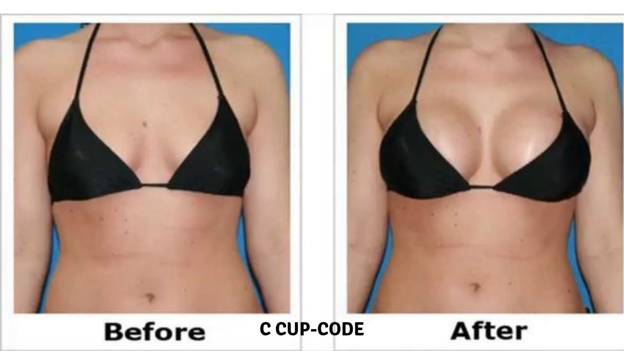Easy Way To Increase Breast Size | C Cup Code Review - YouTube