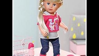 Играем с новой куклой сестренкой Baby Born