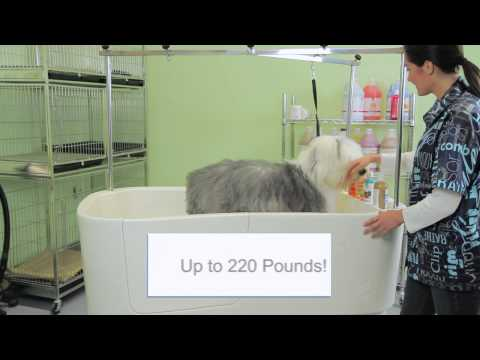 Master Equipment PolyPro Lift Grooming Tub