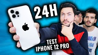 IPhone 12 Pro test for 24 hours ! (what does it give?)