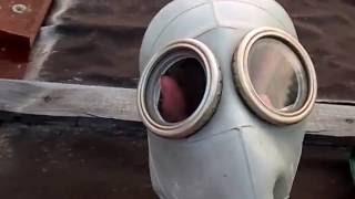 видео Изолирующий противогаз ИП-4М / ИП-4МР с регенеративным патроном