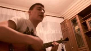 Наговицын на гитаре