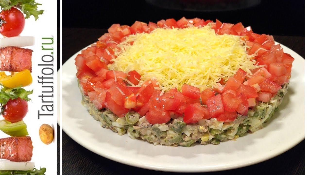 вкусный и быстрый салат на праздник