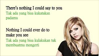 YouTube  I Will Be - Avril Lavigne | Lyrics | Terjemahan Indonesia