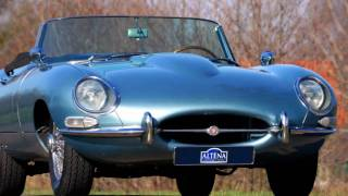 1966 Jaguar E-type 4.2 Litre OTS -roadster (HD photo video with fantastic stereo engine sounds!)