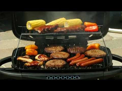 Charmant Blue Rhino® CrossFire™Hybrid Propane And Charcoal Grill