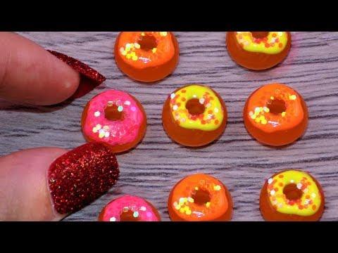 DIY Miniature Food Donuts 🍩 How to Make Miniature Things