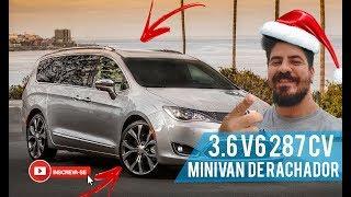 MINIVAN V6 COM 287CV! Review Minivan Chrysler Pacifica 3.6 nos EUA